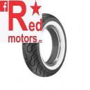 Anvelopa/cauciuc moto spate Dunlop K555 170/80-15 77H TL R WWW (talon alb)