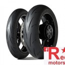 Set anvelope/cauciucuri moto Dunlop Gp Racer D211 120/70 R17 58W S+ 190/55 R17 75W