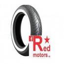 Anvelopa/cauciuc moto fata Bridgestone Exedra G721 G TT 130/90-16 67H Front WW (talon alb)