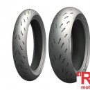Set anvelope/cauciucuri moto Michelin Power RS 120/70ZR17 58W TL + 190/55ZR17 75W TL