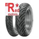 Anvelopa/cauciuc moto fata Dunlop American Elite MT90/B16 72H TL F WWW (talon alb)