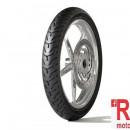 Anvelopa/ cauciuc moto fata Dunlop D408 130/90B16 67H TL F WWW (talon alb)
