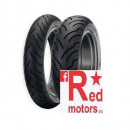 Anvelopa/cauciuc moto spate Dunlop American Elite 180/65B16 81H TL R WWW (talon alb)