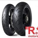 Set anvelope/cauciucuri moto Dunlop Qualifier II 120/70 R17 58W + 190/50 R17 73W