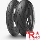 Set anvelope/cauciucuri moto Metzeler Sportec M3 120/70 R17 58W + 160/60 R17 69W