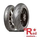 Set anvelope/cauciucuri moto Dunlop Sportsmart II 120/70 R17 58W + 180/55 R17 73W