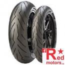 Set anvelope/ cauciucuri moto Pirelli DIABLO ROSSO 3 120/70ZR17 58W TL Front + 180/55R17 73W TL Rear