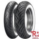 Anvelopa/ cauciuc moto fata Dunlop American Elite 130/90B16 67H TL F WWW (talon alb)