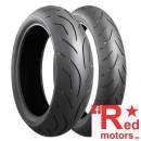 Anvelopa/cauciuc moto spate Bridgestone S20 EVO (78W) TL Rear 200/55R17 Z
