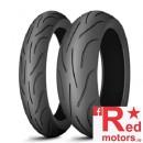 Set anvelope/cauciucuri moto Michelin Pilot Power 2CT 120/70 R17 58W + 180/55 R17 73W