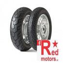 Anvelopa/cauciuc moto spate Dunlop D404 150/90B15 74H TL R WWW (talon alb)