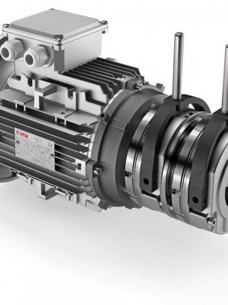 Motor electric trifazat cu doua viteze 1.5/0.75kw 1400/750rpm 100 B5