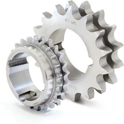 Pinion cu butuc 12B-2 (3/4X7/16) z=28 dinti BC2517 (11-65mm) otel