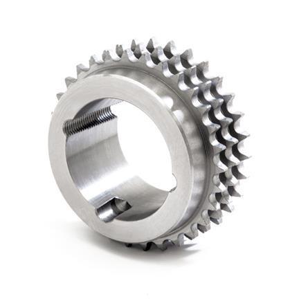 """Pinion cu butuc 16B-3 (1""""X17.02) z=38 dinti BC3525 (35-90mm) otel"""