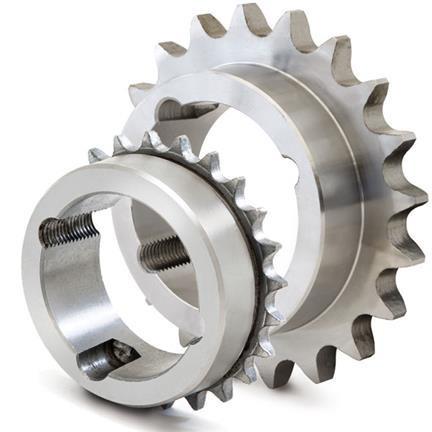 """Pinion cu butuc 16B-1 (1""""X17.02) z=38 dinti BC3020 (25-75mm) otel"""