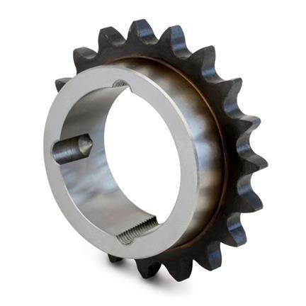 """Pinion cu butuc gall 16B-1 (1""""X17.02) z=19 dinti BC2517 (11-65mm) dinti tratati"""