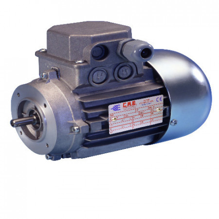 Motor electric trifazat cu doua viteze 0.3/0.15kw 1400/750rpm 71 B14