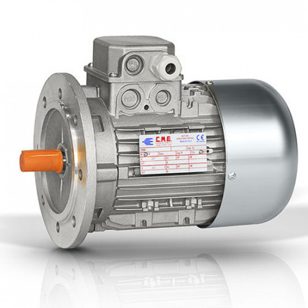 Motor electric trifazat cu doua viteze 0.37/0.22kw 1400/750rpm 80 B5