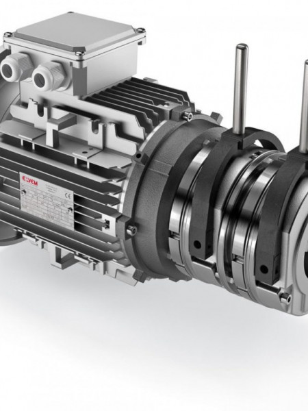 Motor electric trifazat cu doua viteze 1.1/0.6kw 1400/750rpm 90 B5