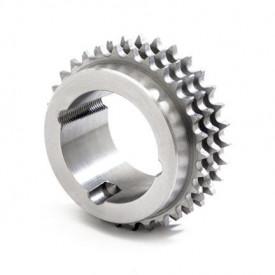 """Pinion cu butuc 16B-3 (1""""X17.02) z=21 dinti BC3030 (35-75mm) otel"""