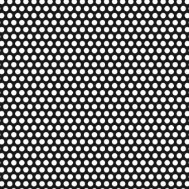 Tabla perforata otel 1x1000x2000mm R4 T6
