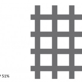 Tabla perforata otel 2x1000x2000mm C10 U14