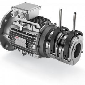 Motor electric cu frana