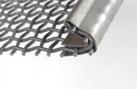 Sita ciur balastiera otel arc fir 2mm, ochi 4mm, 8.47kg/mp, suprafata libera 4.44%