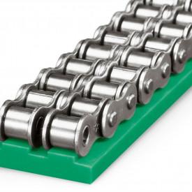 Ghidaj din poliamida pentru lant gall 10B-2 tip T2.2 C5A15 25x9mm - 0.2kg