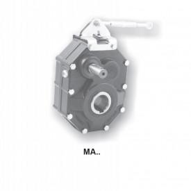 Reductoare pendulare cu montaj pe ax tip M