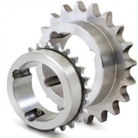 """Pinion cu butuc 16B-1 (1""""X17.02) z=45 dinti BC3020 (25-75mm) otel"""