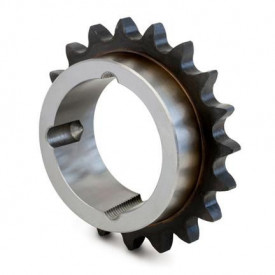 """Pinion cu butuc gall 24B-1 (1""""1/2X1"""") z=57 dinti BC4545 (55-110mm) dinti tratati"""