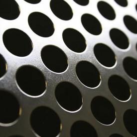 Tabla zincata perforata 1.5x1250x2500mm R10 T15