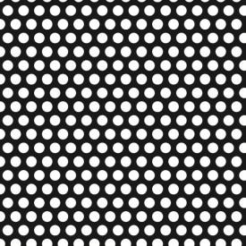 Tabla zincata perforata 1x1000x2000mm R6 T9