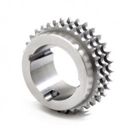 """Pinion cu butuc 16B-3 (1""""X17.02) z=19 dinti BC3020 (25-75mm) otel"""