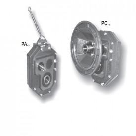Reductoare pendulare cu montaj pe ax tip P