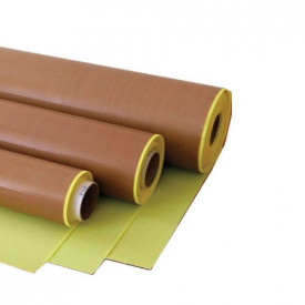 Banda teflon adeziv 0.18mm latime 1000mm -0.4kg