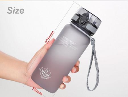 Sticla apa Uzspace Tritan, fara BPA cu capac 1000ml verde