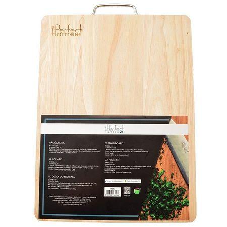 Tocator lemn 40*30*2cm maner metal