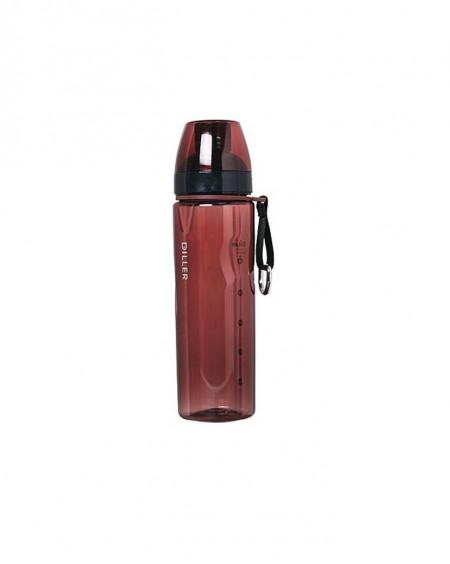 Sticla apa Tritan, fara BPA cu capac 700ml Bordo, Diller