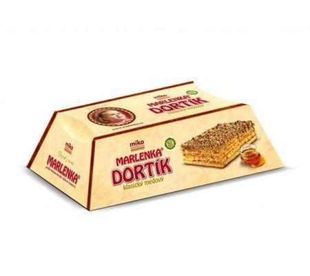 Tort Marlenka clasic cu miere si nuca 100g