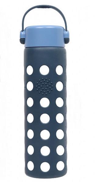 Sticla apa Diller cu capac 550ml albastru
