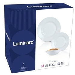 Set serviciu masa portelan 18buc. Luminarc Everyday