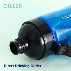 Sticla apa Tritan, fara BPA cu capac 700ml Verde, Diller