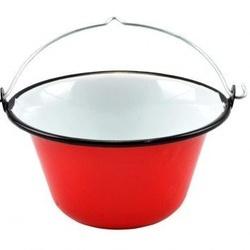 Ceaun emailat 0,8 litri pentru servire - rosu -