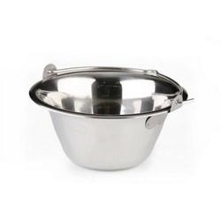Ceaun otel inoxdabil 0,75 litri pentru servire
