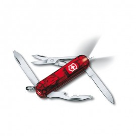 Poze Briceag Victorinox Midnite Manager Ruby, rosu transparent - 0.6366.T