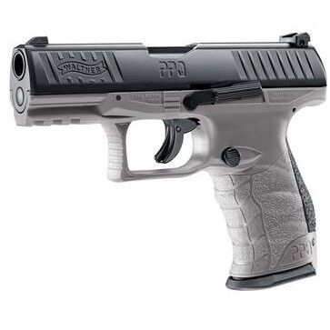 Poze UMAREX PISTOL CO2 AIRSOFT WALTHER PPQ M2 T4E TUNGSTEN CAL.43 8BB