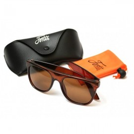 Poze Ochelari Polarizati Fortis Flat Top Polarised Brown