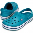 Papuci Crocs Crocband Turquoise/Oyster